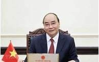 国家主席阮春福希望美国继续在疫情防控阻击战中向越南提供支持