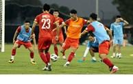 越南U23足球队为2022年U23亚洲杯预选赛备赛