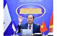越南希望推动与尼加拉瓜的友好合作关系