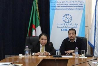 越南与阿尔及利亚经贸推介座谈会举行