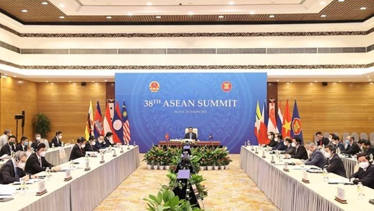 第38届和第39届东盟峰会在文莱开幕
