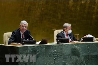 联合国大会选出18个人权理事会成员
