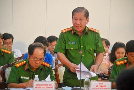 TP Hồ Chí Minh cần xây dựng tốt lực lượng phòng cháy chữa cháy tại chỗ