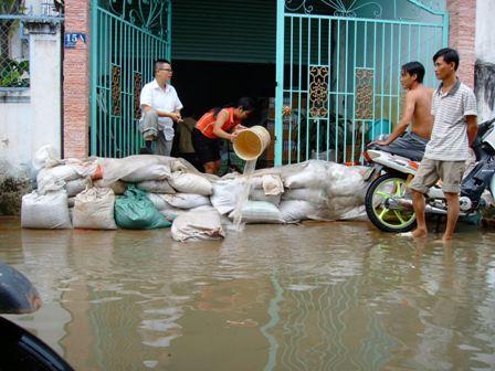 Cập nhật diễn biến ngập trên Cổng thông tin giao thông TP Hồ Chí Minh
