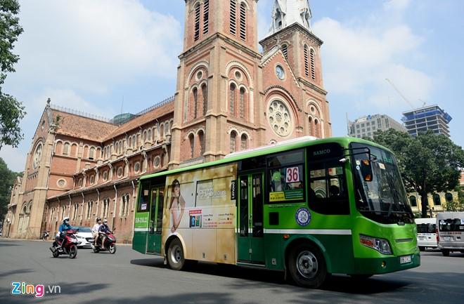 Nâng cao hình ảnh xe buýt văn minh, hiện đại, tiện dụng, an toàn