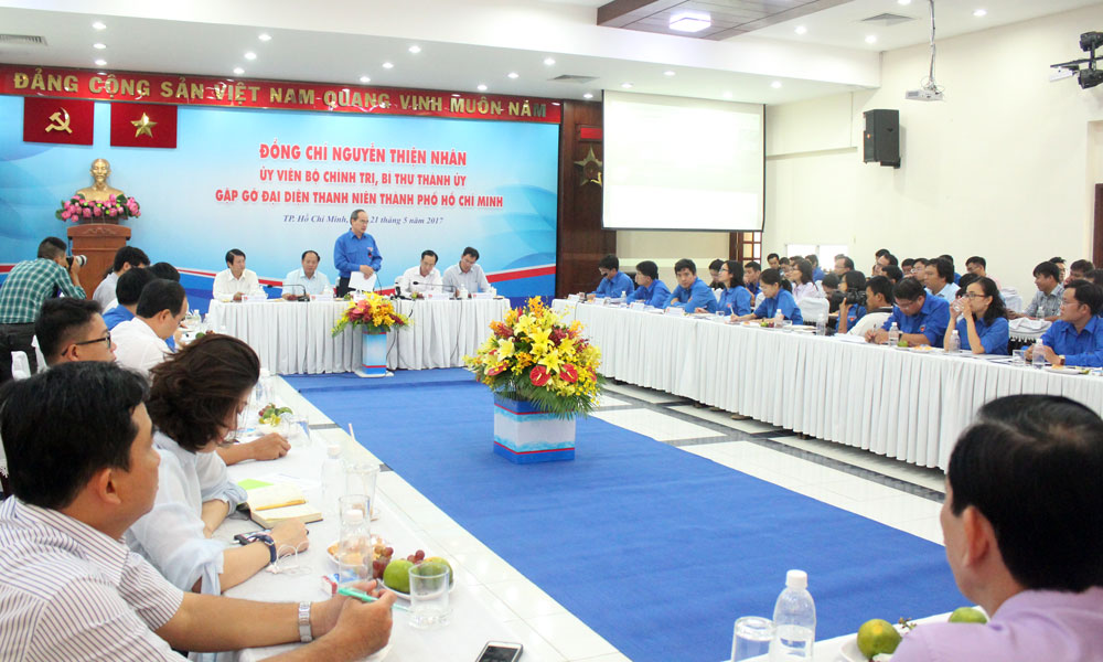 TP Hồ Chí Minh tạo điều kiện để thanh niên phát huy tốt nhất năng lực và sự sáng tạo