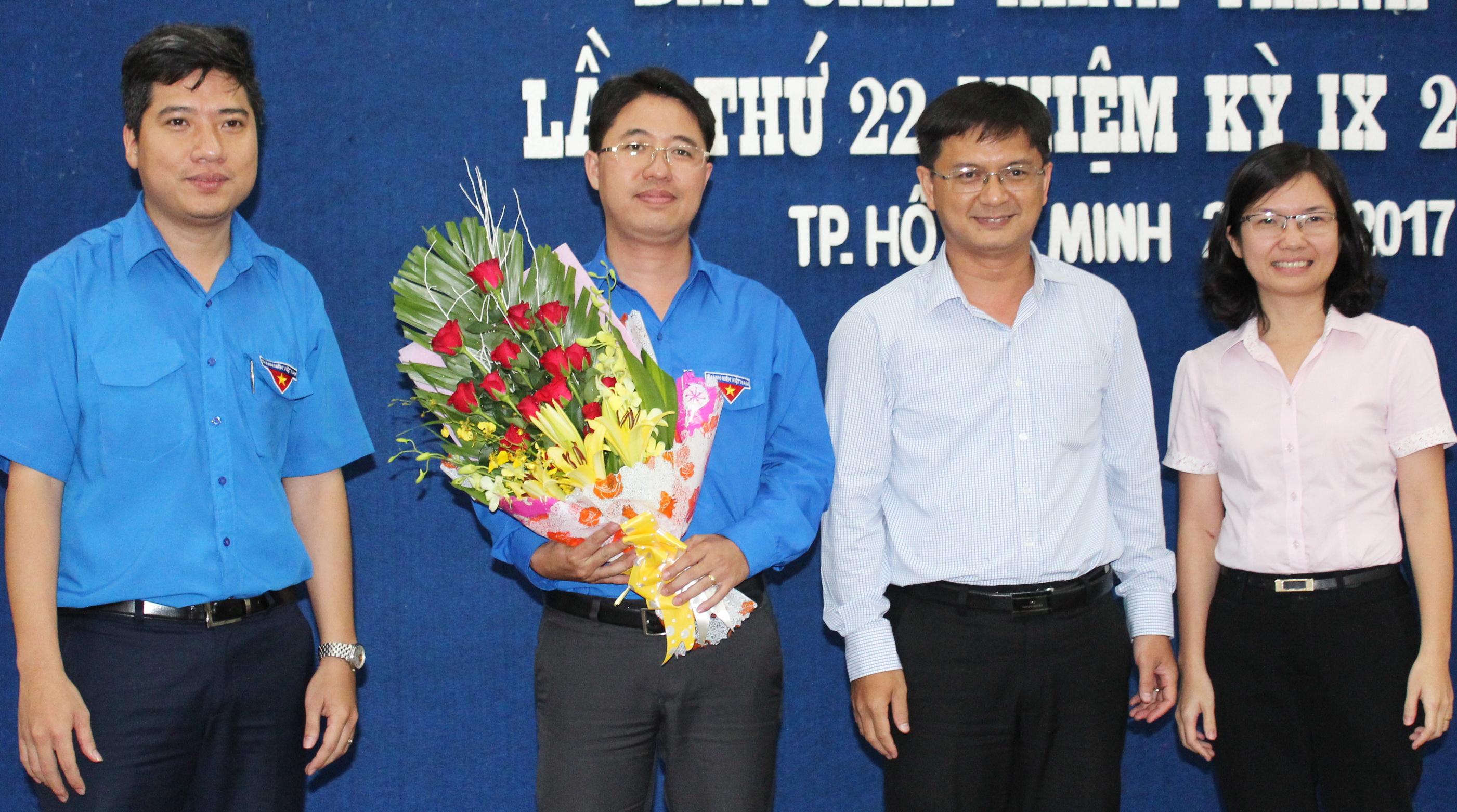 Đồng chí Phạm Hồng Sơn được bầu làm Bí thư Thành Đoàn TP.Hồ Chí Minh