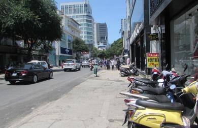 Quận 1, TP Hồ Chí Minh tiếp tục chấn chỉnh trật tự lòng lề đường