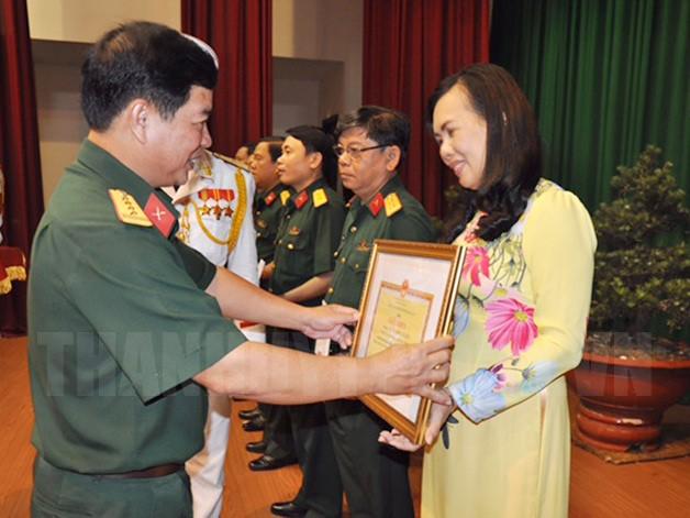 Hội thi tuyên truyền thực hiện Chỉ thị 05 của Bộ Chính trị: 69 thí sinh tiêu biểu của lực lượng vũ trang Thành phố