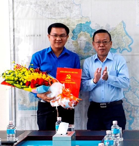 Đồng chí Lâm Đình Thắng giữ chức vụ Phó Bí thư Quận ủy Bình Thạnh