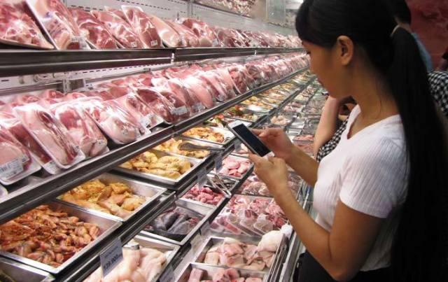 Từ ngày 31/7/2017, kiểm soát toàn bộ nguồn thịt lợn đưa vào tiêu thụ