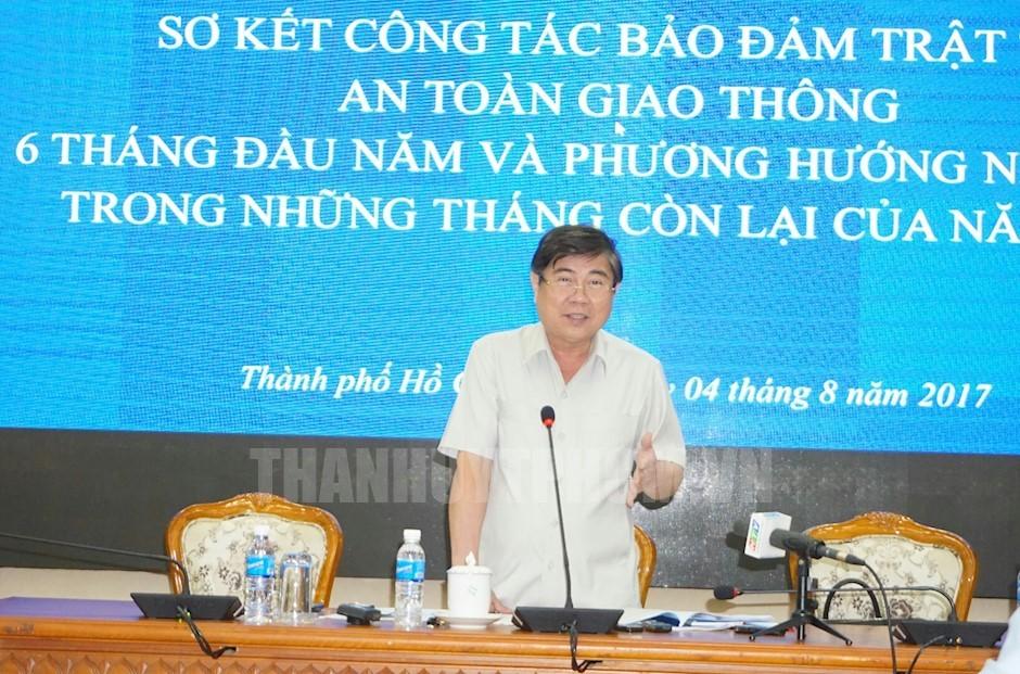 TP.Hồ Chí Minh bàn giải pháp quyết liệt bảo đảm trật tự an toàn giao thông