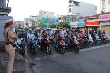 TP.Hồ Chí Minh tăng cường bảo đảm trật tự an toàn giao thông
