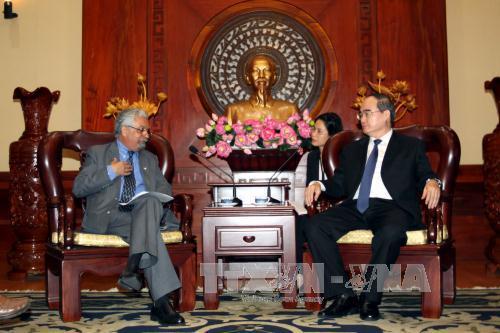 TP. Hồ Chí Minh và Chương trình Phát triển của Liên hợp quốc tại Việt Nam tăng cường hợp tác