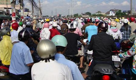 TP.Hồ Chí Minh đẩy mạnh các giải pháp giảm ùn tắc giao thông