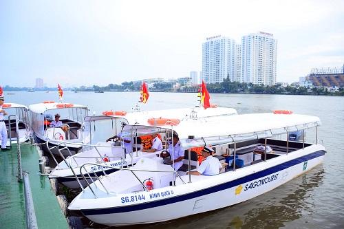 TP.Hồ Chí Minh ra mắt 7 tuyến du lịch đường sông mới