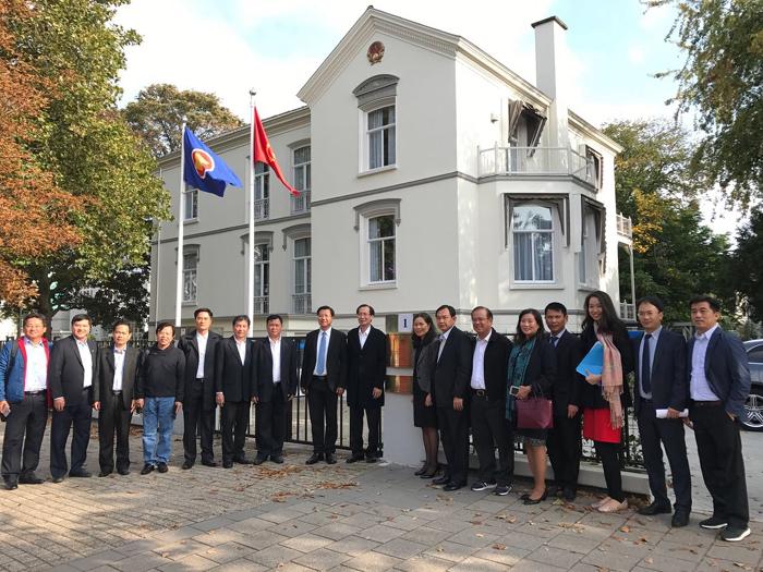 Thúc đẩy hợp tác giữa Thành phố Hồ Chí Minh với Hà Lan