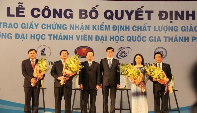 Đại học Quốc gia TP. Hồ Chí Minh tăng 5 bậc trong bảng xếp hạng QS Asia 2017 - 2018