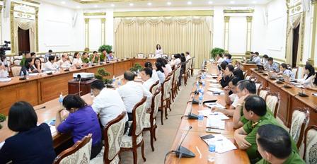 TP.Hồ Chí Minh họp đột xuất về vụ bạo hành trẻ em cơ sở Mầm non Tư thục Mầm Xanh