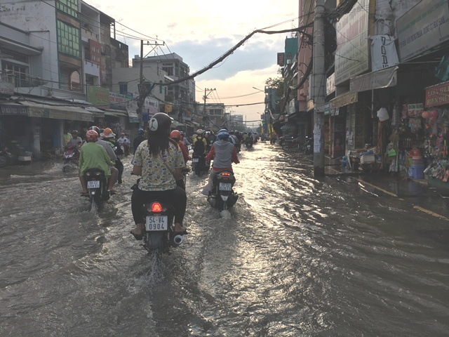 TP.Hồ Chí Minh: Quản lý phát triển đô thị ứng phó với ngập lụt và biến đổi khí hậu