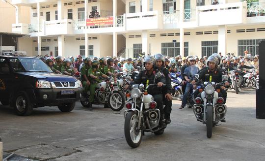 Công an TP.Hồ Chí Minh đẩy mạnh tấn công tội phạm