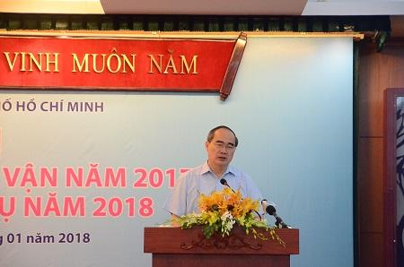 Bí thư Thành ủy TP.Hồ Chí Minh: Khắc phục ngay những nội dung dân chủ còn hình thức