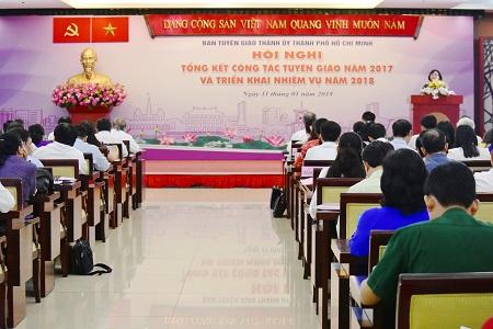 """Ngành tuyên giáo TP.Hồ Chí Minh phải luôn đổi mới, luôn """"đi trước một bước"""""""