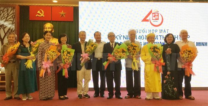 Nhà xuất bản Tổng hợp TP. Hồ Chí Minh kỷ niệm 40 năm thành lập