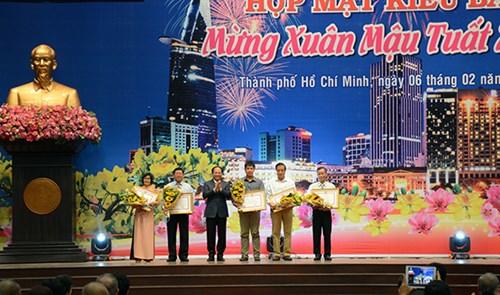 TP.Hồ Chí Minh họp mặt kiều bào mừng Xuân Mậu Tuất 2018