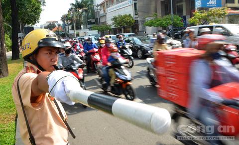 Tăng cường bảo đảm trật tự, an toàn giao thông đợt Tết Nguyên đán Mậu Tuất 2018