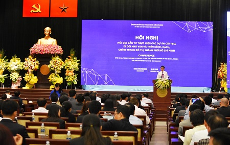 TP.Hồ Chí Minh mời gọi đầu tư vào các dự án cải tạo, di dời nhà ven và trên kênh, rạch, chỉnh trang đô thị