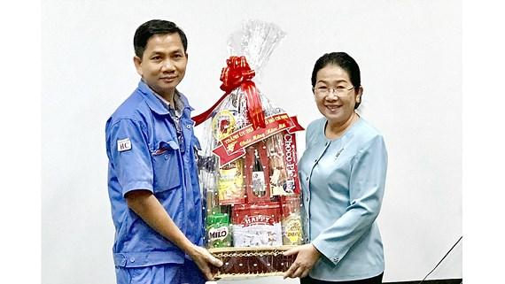 Lãnh đạo Thành ủy TP Hồ Chí Minh thăm các tổ chức Đảng trong doanh nghiệp
