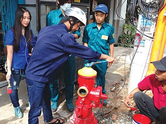 Nâng cao nhận thức bảo vệ trụ nước chữa cháy