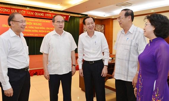 Bí thư Thành ủy TP. Hồ Chí Minh Nguyễn Thiện Nhân: Nâng cao tỷ lệ thu hồi tài sản tham nhũng
