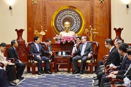 TP.Hồ Chí Minh đẩy mạnh quan hệ hữu nghị, hợp tác với Thủ đô Phnom Penh