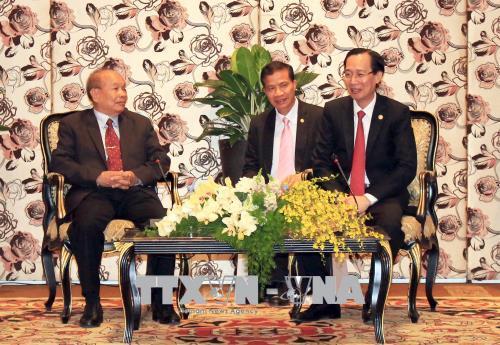 Lãnh đạo TP. Hồ Chí Minh tiếp Bộ trưởng Bộ Lễ nghi và Tôn giáo Campuchia