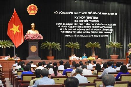 TP Hồ Chí Minh tổ chức kỳ họp bất thường triển khai cơ chế chính sách đặc thù