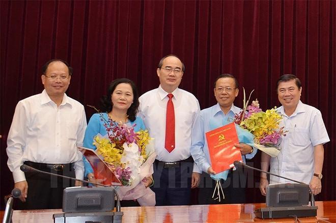 Ban Tổ chức, Ban Dân vận Thành ủy TP.Hồ Chí Minh có Trưởng Ban mới