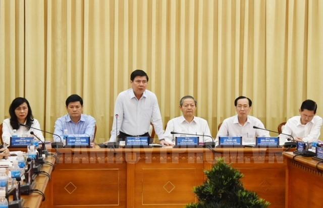 Điều chỉnh phân công công tác Thường trực UBND TP. Hồ Chí Minh