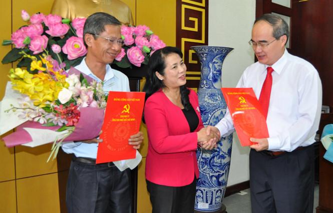 Thành ủy TP.Hồ Chí Minh triển khai quyết định về công tác cán bộ