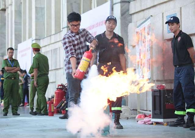 Đảm bảo an toàn phòng cháy, chữa cháy đối với chung cư, nhà cao tầng