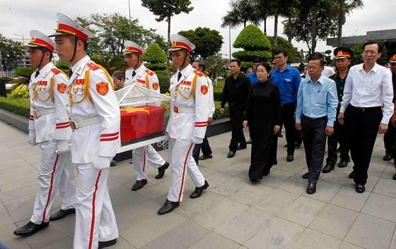 Đưa hài cốt anh hùng Nguyễn Văn Trỗi về Nghĩa trang Liệt sĩ TP Hồ Chí Minh