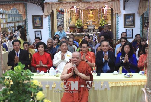Lễ hội Tết cổ truyền Campuchia-Lào-Myanmar-Thái Lan năm 2018