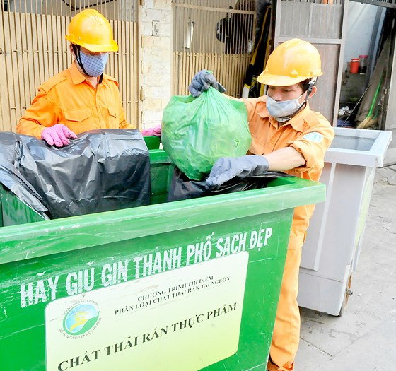 Nâng cao hiệu quả phân loại chất thải sinh hoạt tại nguồn