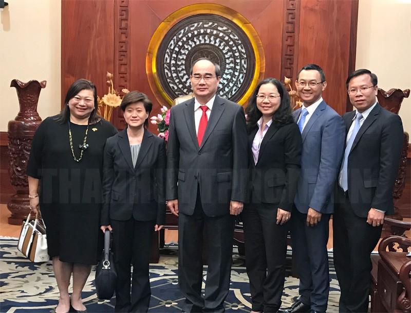 Singapore sẵn sàng tham gia cùng TP. Hồ Chí Minh xây dựng đô thị thông minh