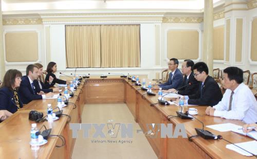 Thành phố Hồ Chí Minh và thành phố Edessa (Hi Lạp) đẩy mạnh hợp tác