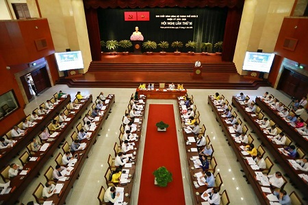 Bí thư Thành ủy TP. Hồ Chí Minh Nguyễn Thiện Nhân: Phải tiếp tục cải thiện môi trường đầu tư của Thành phố