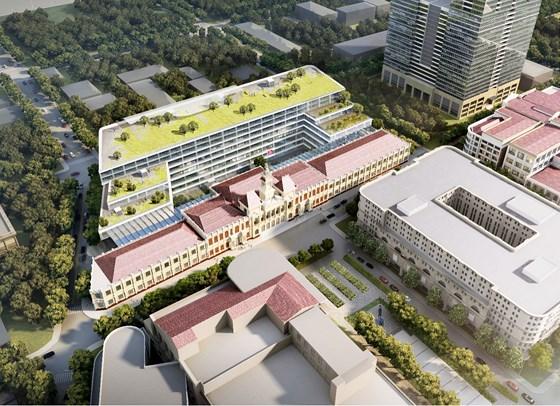 Triển lãm lấy ý kiến người dân về mở rộng và nâng cấp trụ sở HĐND và UBND TP.Hồ Chí Minh