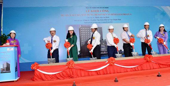 Hơn 450 tỉ đồng cải tạo, xây dựng Bệnh viện An Bình
