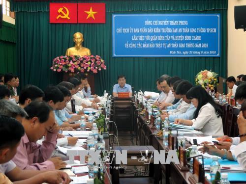 Tăng cường đảm bảo trật tự an toàn giao thông cửa ngõ phía Tây thành phố Hồ Chí Minh